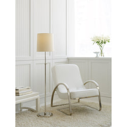 Visual Comfort TOB 1002PN-NP Thomas O'Brien Bryant Floor Lamp in Polished Nickel