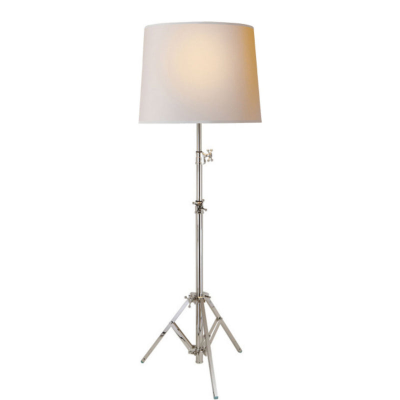 Visual Comfort TOB 1010PN-NP Thomas O'Brien Studio Floor Lamp in Polished Nickel