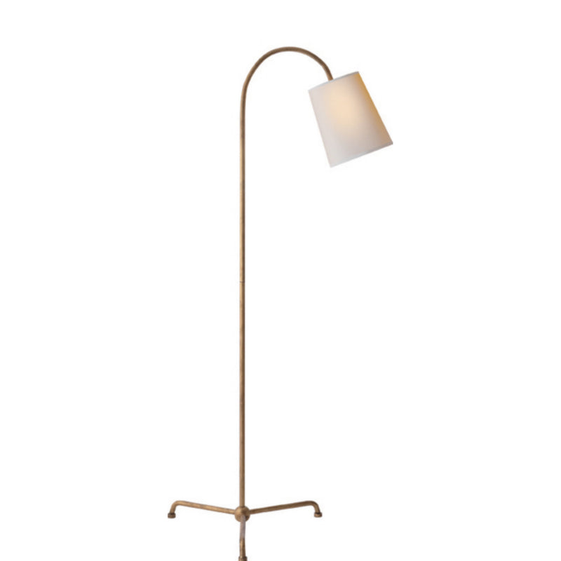 Visual Comfort TOB 1021GI-NP Thomas O'Brien Mia Floor Lamp in Gilded Iron