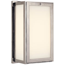 Visual Comfort TOB 2003PN Thomas O'Brien Mercer Short Box Light in Polished Nickel
