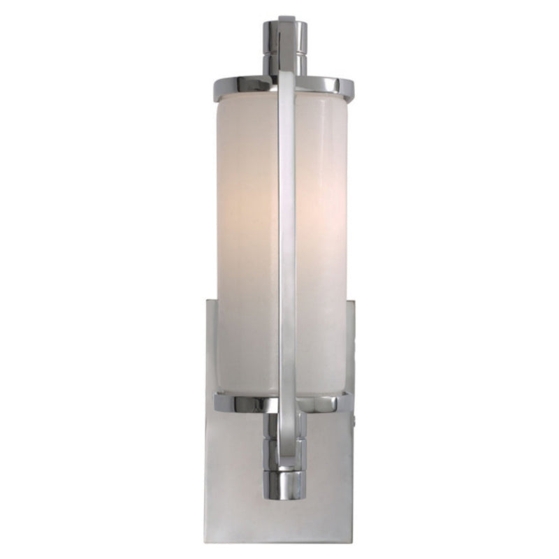 Visual Comfort TOB 2030CH-WG Thomas O'Brien Keeley Short Pivoting Sconce in Chrome