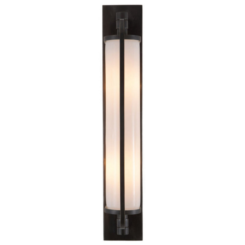 Visual Comfort TOB 2031BZ-WG Thomas O'Brien Keeley Tall Pivoting Sconce in Bronze