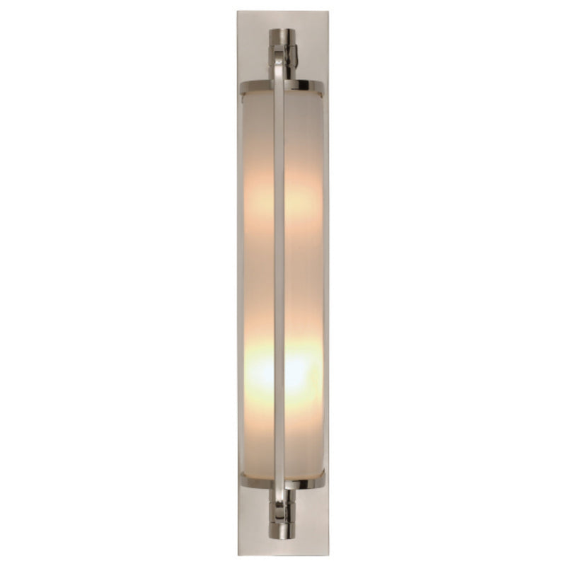 Visual Comfort TOB 2031CH-WG Thomas O'Brien Keeley Tall Pivoting Sconce in Chrome