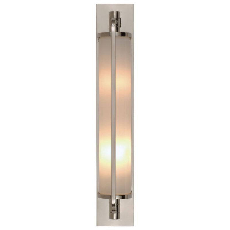 Visual Comfort TOB 2031PN-WG Thomas O'Brien Keeley Tall Pivoting Sconce in Polished Nickel