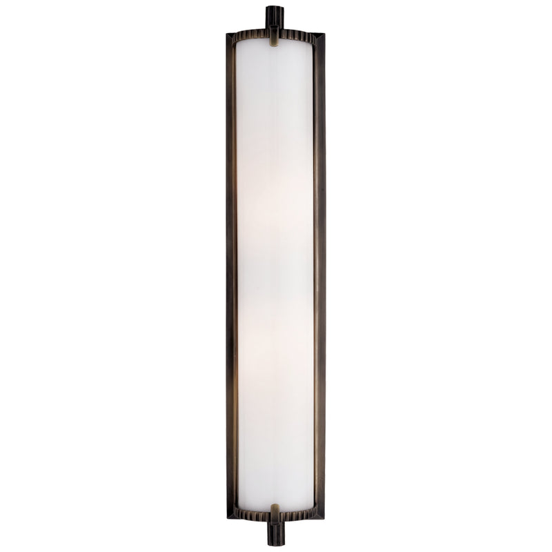 Visual Comfort TOB 2185BZ-WG Thomas O'Brien Calliope Tall Bath Light in Bronze