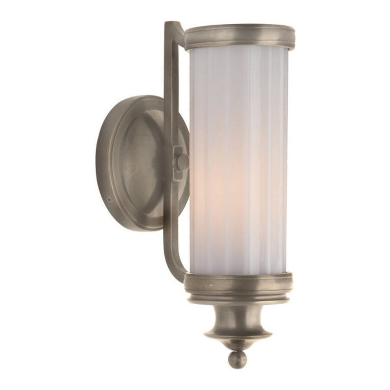 Visual Comfort TOB 2197AN-WG Thomas O'Brien Milton Road Sconce in Antique Nickel