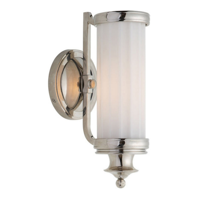 Visual Comfort TOB 2197PN-WG Thomas O'Brien Milton Road Sconce in Polished Nickel