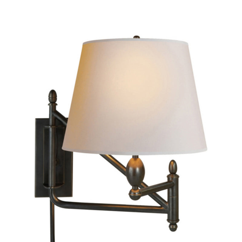 Visual Comfort TOB 2203BZ-NP Thomas O'Brien Paulo Small Bracket Light in Bronze