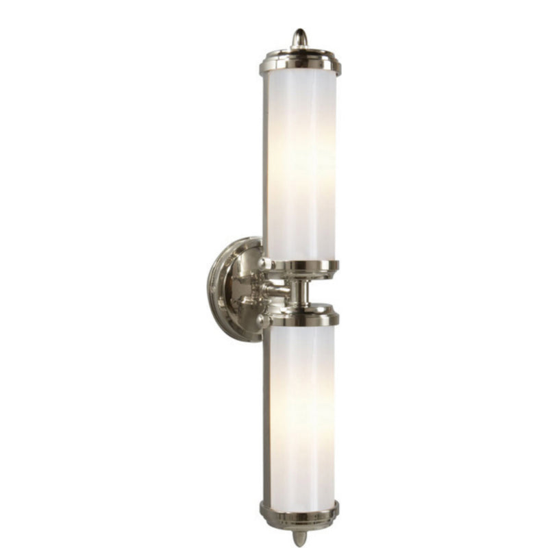 Visual Comfort TOB 2207PN-WG Thomas O'Brien Merchant Double Bath Light in Polished Nickel