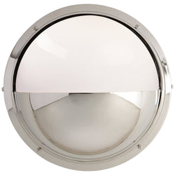 Visual Comfort TOB 2208PN-WG Thomas O'Brien Pelham Moon Light in Polished Nickel
