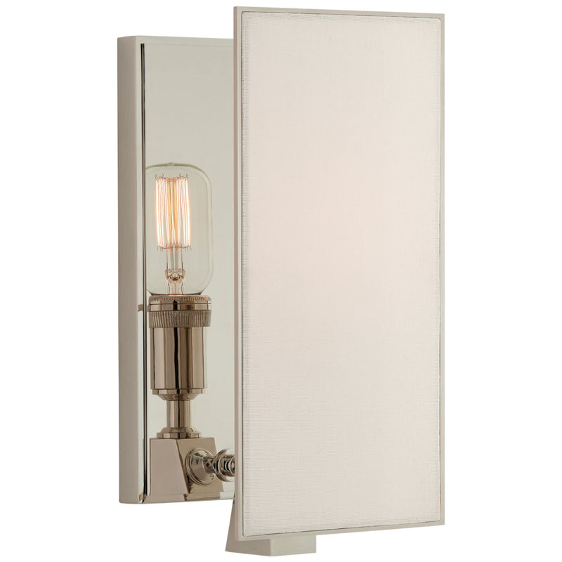 Visual Comfort TOB 2341PN-L Thomas O'Brien Albertine Small Sconce in Polished Nickel