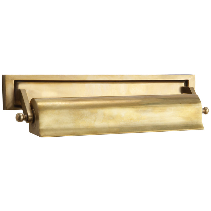 "Visual Comfort TOB 2605HAB Thomas O'Brien Library 16"" Picture Light in Hand-Rubbed Antique Brass"