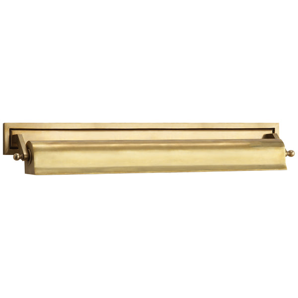 "Visual Comfort TOB 2606HAB Thomas O'Brien Library 22"" Picture Light in Hand-Rubbed Antique Brass"