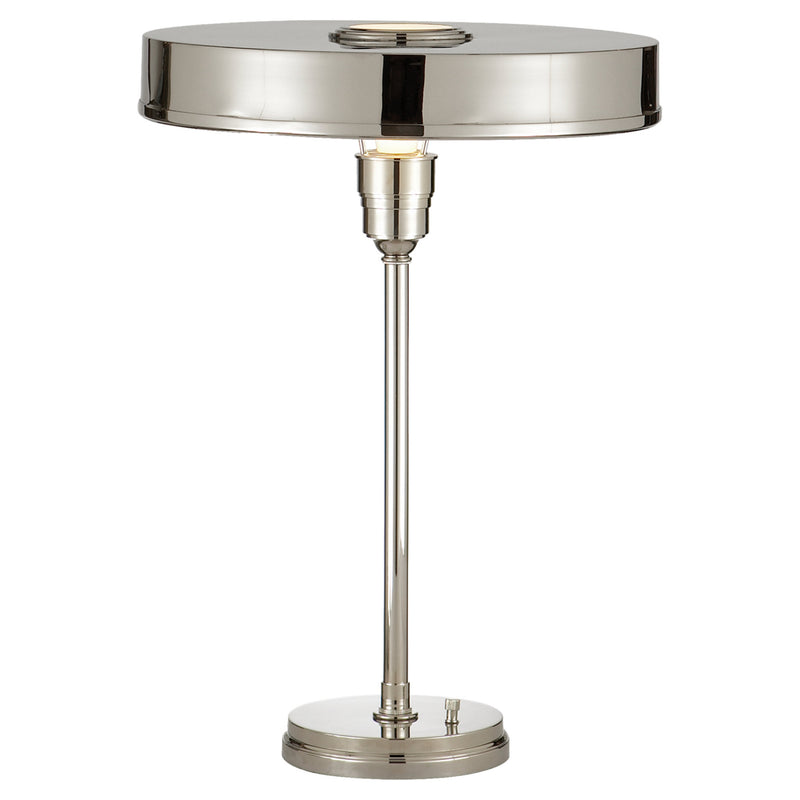 Visual Comfort TOB 3190PN Thomas O'Brien Carlo Table Lamp in Polished Nickel