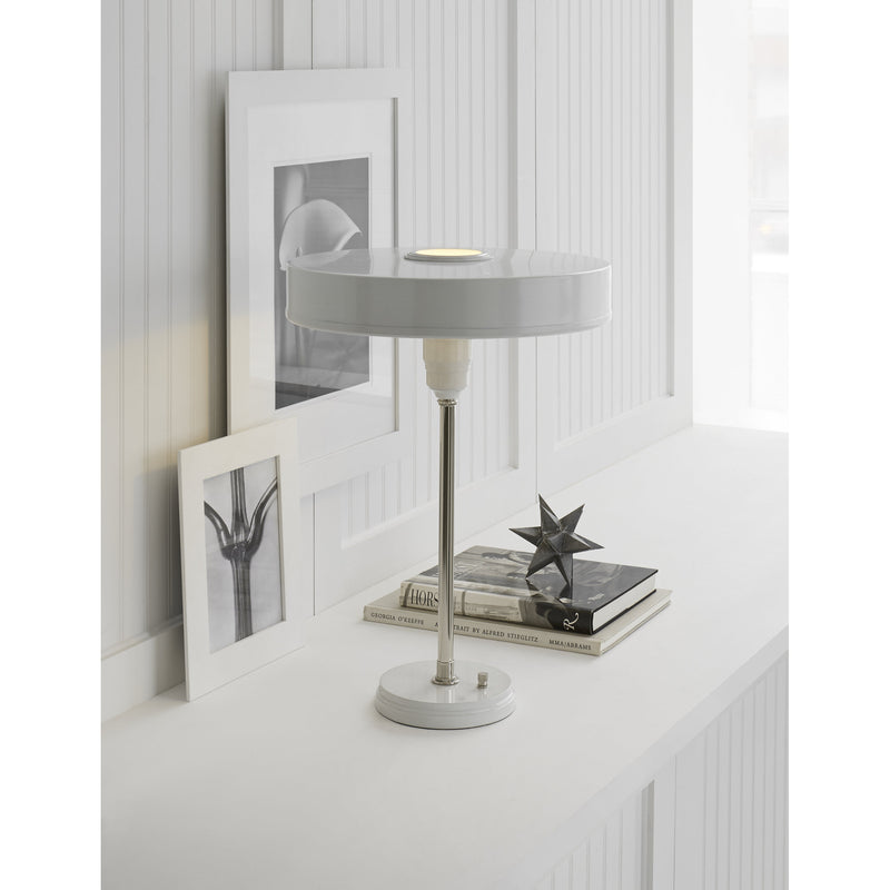 Visual Comfort TOB 3190PN/WHT Thomas O'Brien Carlo Table Lamp in Antique White