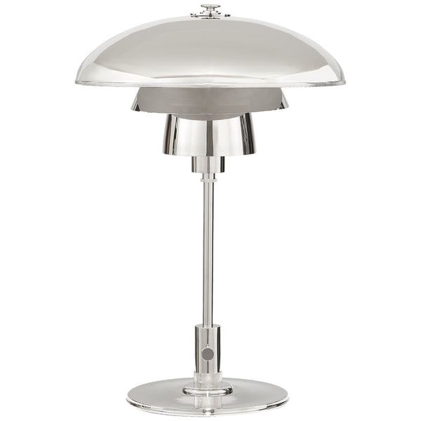 Visual Comfort TOB 3513PN-PN Thomas O'Brien Whitman Desk Lamp in Polished Nickel