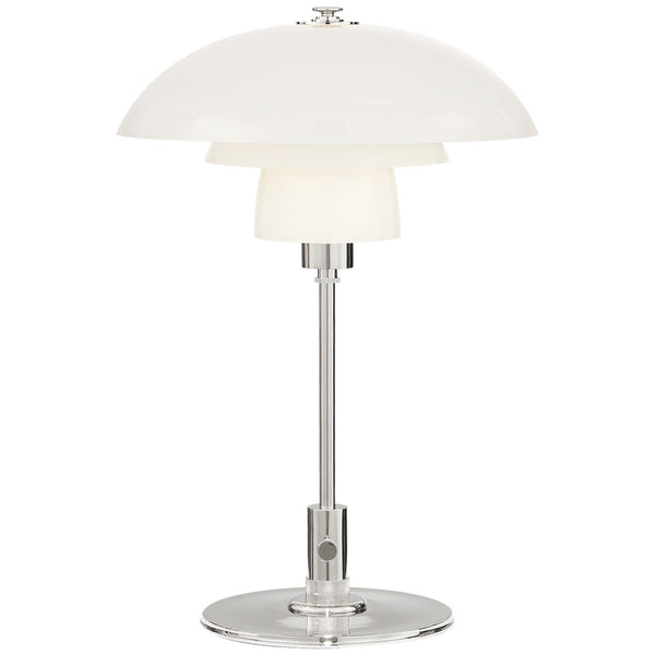 Visual Comfort TOB 3513PN-WG Thomas O'Brien Whitman Desk Lamp in Polished Nickel