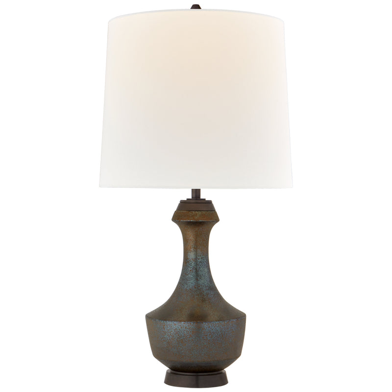 Visual Comfort TOB 3686CBZ-L Thomas O'Brien Mauro Large Table Lamp in Crystal Bronze
