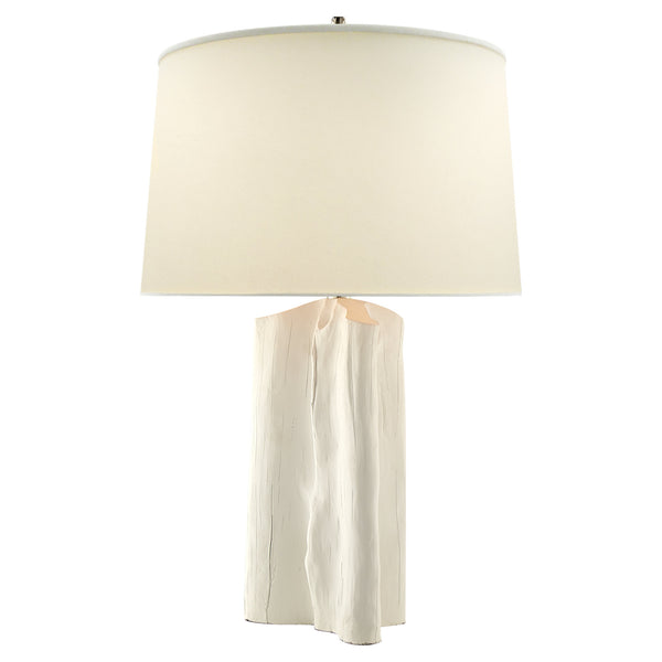 Visual Comfort TOB 3735PW-NP Thomas O'Brien Sierra Buffet Lamp in Plaster White