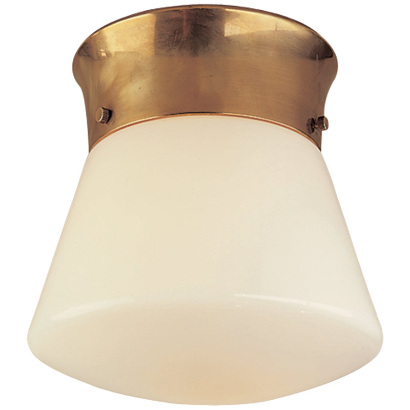 Visual Comfort TOB 4000HAB Thomas O'Brien Perry Ceiling Light in Hand-Rubbed Antique Brass