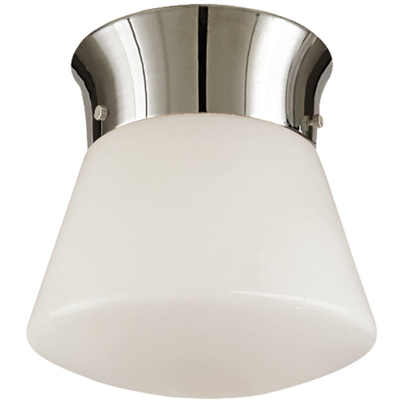 Visual Comfort TOB 4000PN Thomas O'Brien Perry Ceiling Light in Polished Nickel