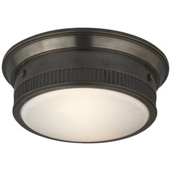 Visual Comfort TOB 4203BZ Thomas O'Brien Calliope Marine Flush Mount in Bronze