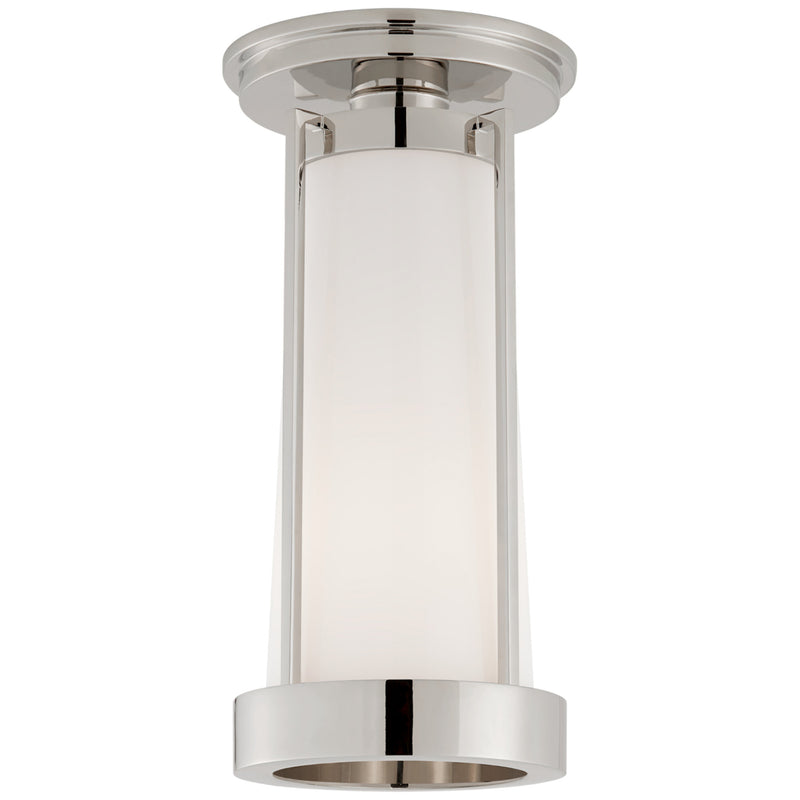 Visual Comfort TOB 4275PN-WG Thomas O'Brien Calix Tall Flush in Polished Nickel