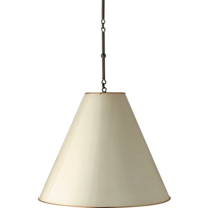 Visual Comfort TOB 5014BZ-AW Thomas O'Brien Goodman Large Hanging Lamp in Bronze