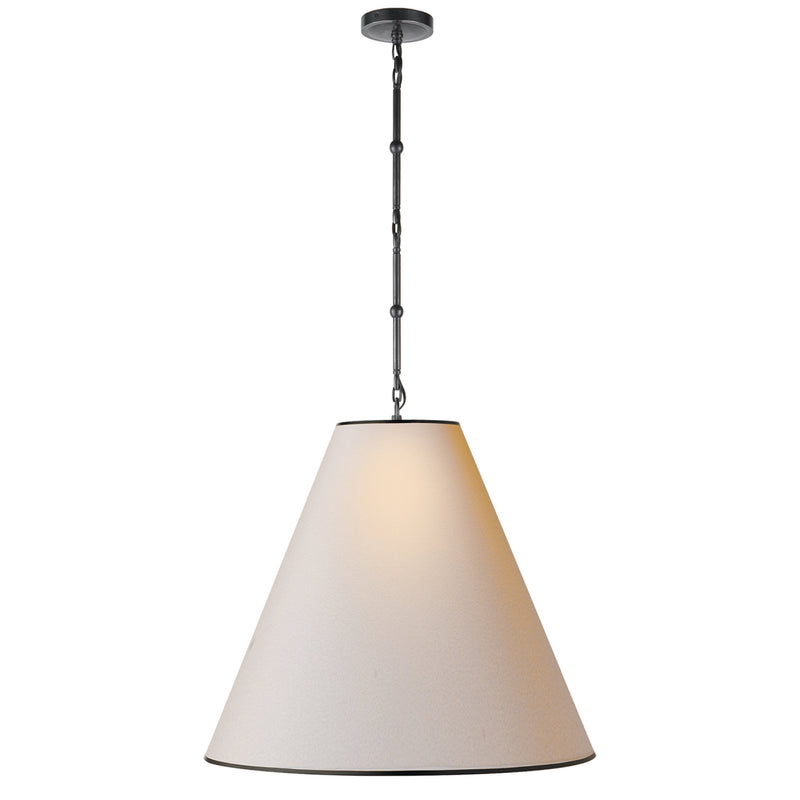 Visual Comfort TOB 5014BZ-NP/BT Thomas O'Brien Goodman Large Hanging Lamp in Bronze