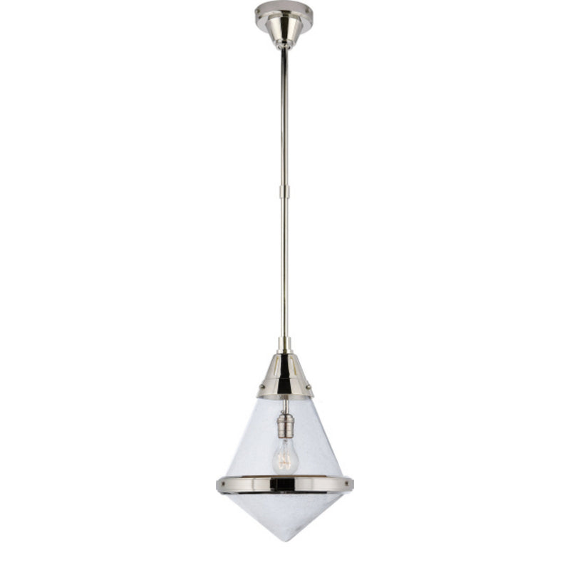 Visual Comfort TOB 5155PN-SG Thomas O'Brien Gale Small Pendant in Polished Nickel