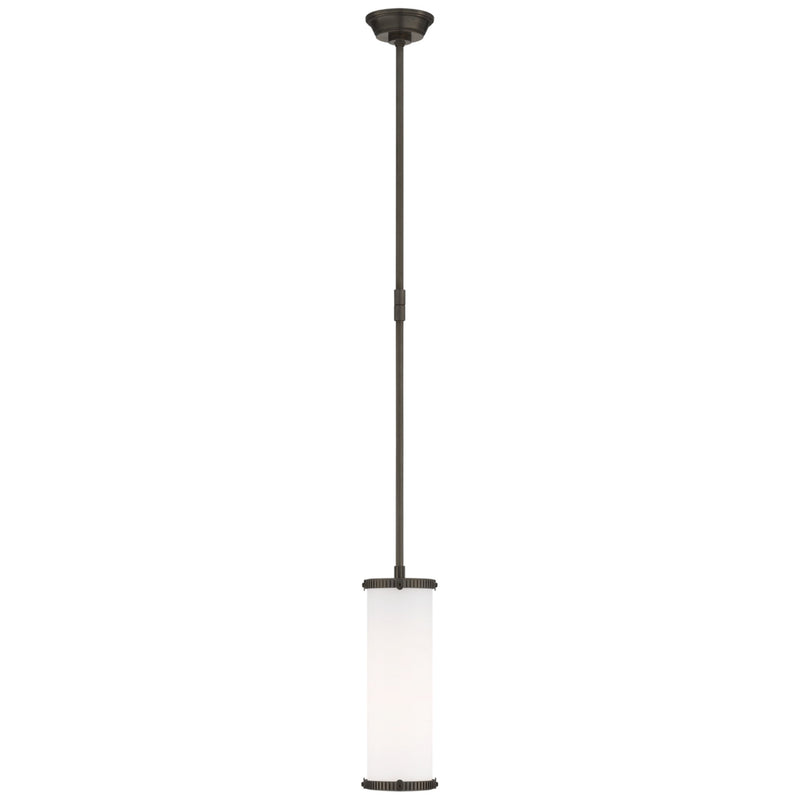 Visual Comfort TOB 5184BZ-WG Thomas O'Brien Modern Calliope Small Pendant in Bronze