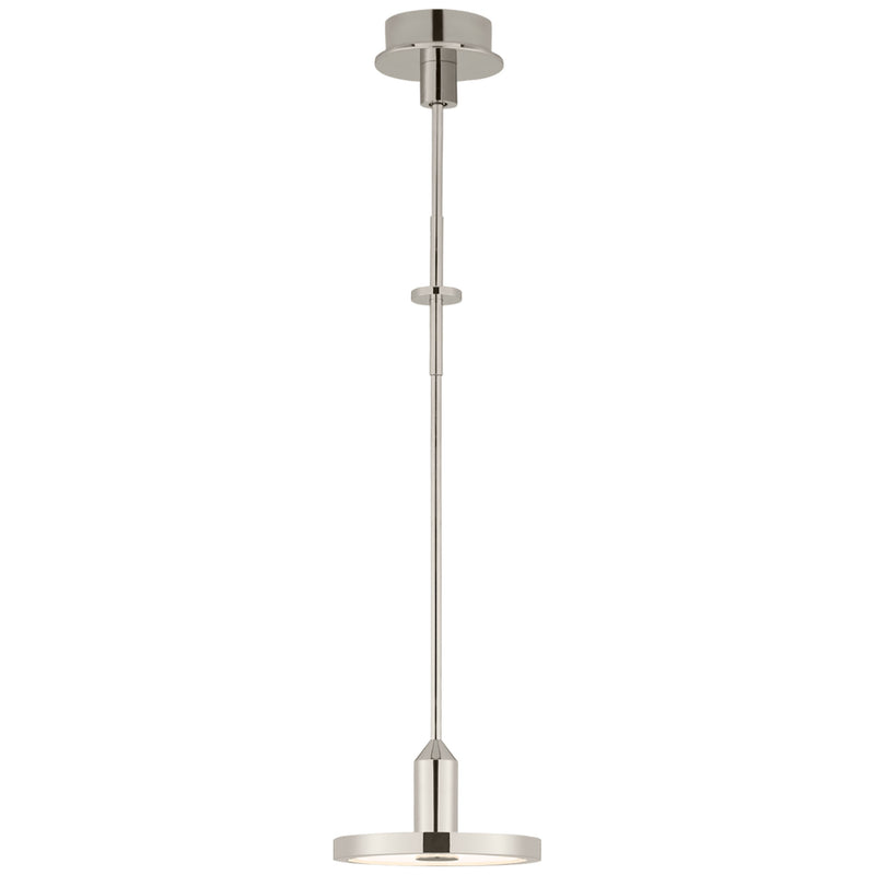 Visual Comfort TOB 5191PN Thomas O'Brien Valen Small Pendant in Polished Nickel