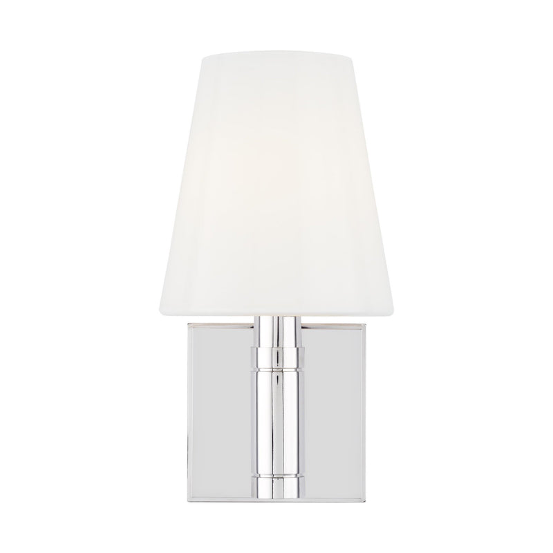 Generation Lighting TV1011PN Thomas O'Brien Beckham Classic 1 Light Wall / Bath Light in Polished Nickel