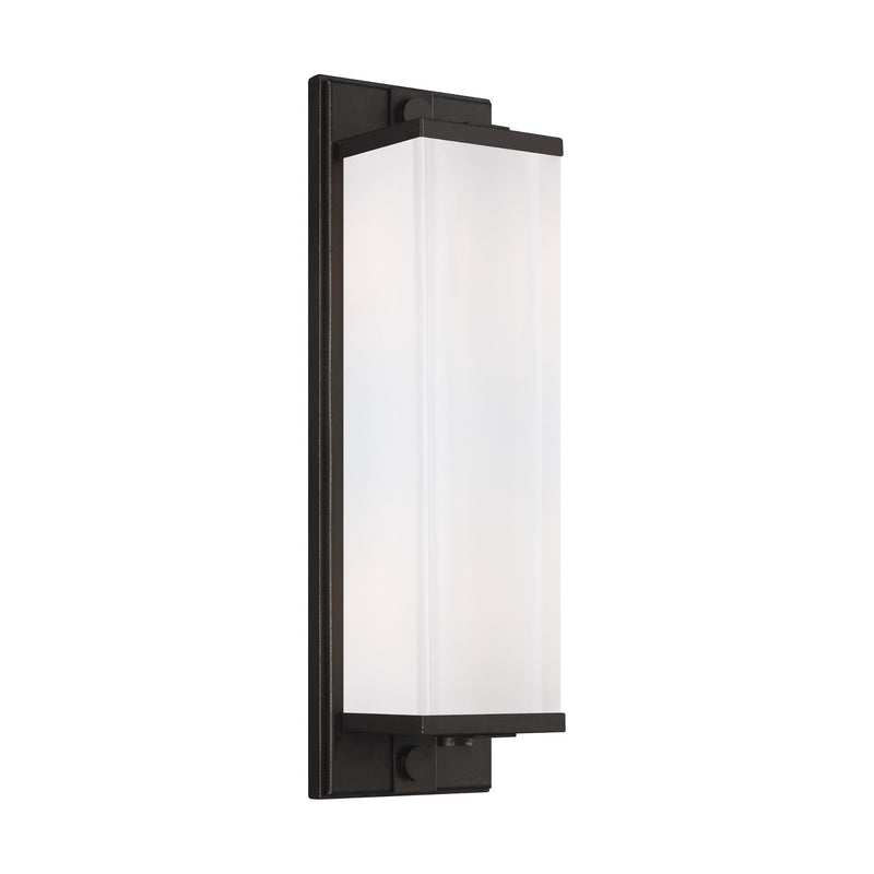 Generation Lighting TV1222AI Thomas O'Brien Logan 2 Light Wall / Bath Light in Aged Iron