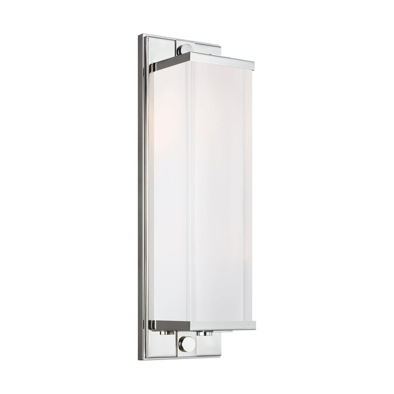 Generation Lighting TV1222PN Thomas O'Brien Logan 2 Light Wall / Bath Light in Polished Nickel