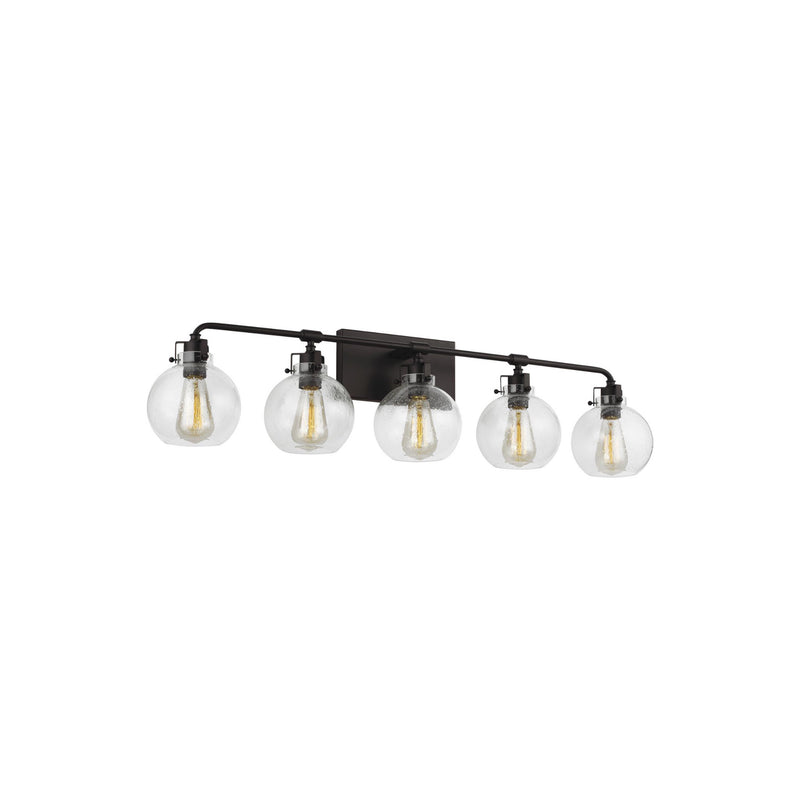 Generation Lighting VS24405ORB Feiss Clara 5 Light Wall / Bath Light in Oil Rubbed Bronze
