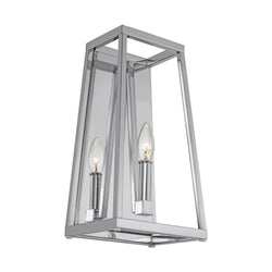 Generation Lighting WB1827CH Feiss Conant 1 Light Wall / Bath Light in Chrome