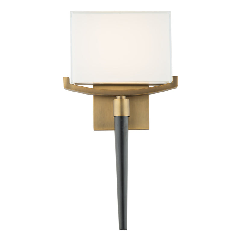 Modern Forms WS-12118-AB 3000K 16.5 Watt Muse LED Wall Sconce in Aged Brass