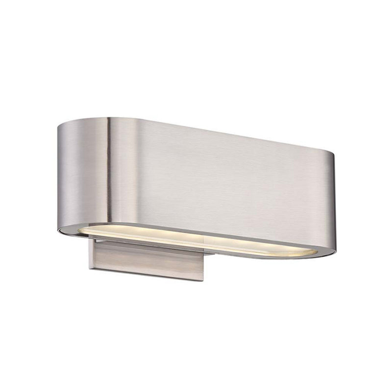 Modern Forms WS-39610-BN 3000K 16 Watt Nia LED Wall Sconce in Brushed Nickel