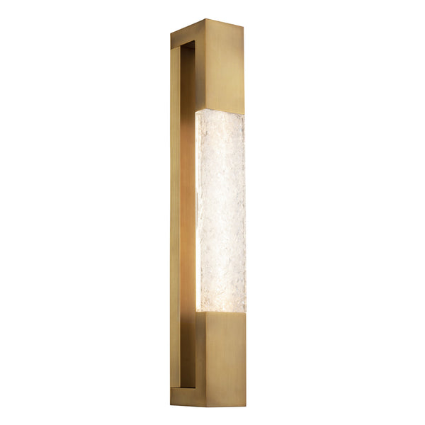 Modern Forms WS-65023-AB 3000K 18 Watt Ember LED Bath Vanity And Wall Light in Aged Brass