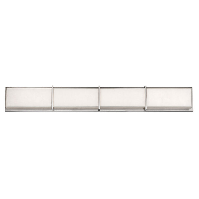 Modern Forms WS-6838-BN 3000K 58 Watt Bahn LED Bathroom Vanity & Wall Light in Brushed Nickel