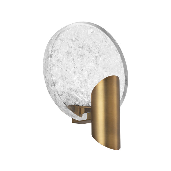 Modern Forms WS-69009-AB 3000K 11 Watt Oracle LED Wall Light in Aged Brass