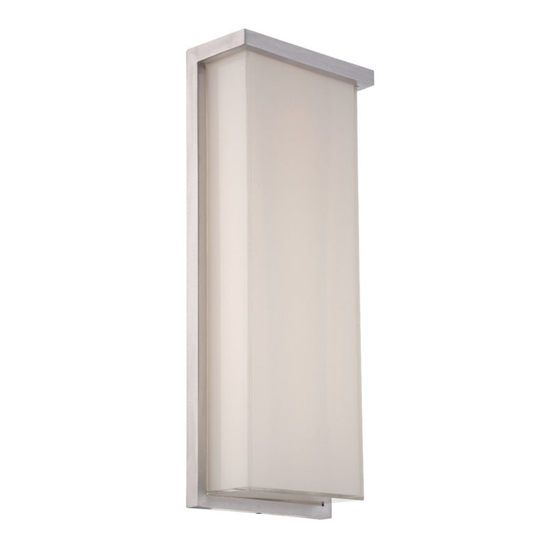 Modern Forms WS-W1420-AL 3000K 29 Watt LEDge LED Wall Light in Brushed Aluminum