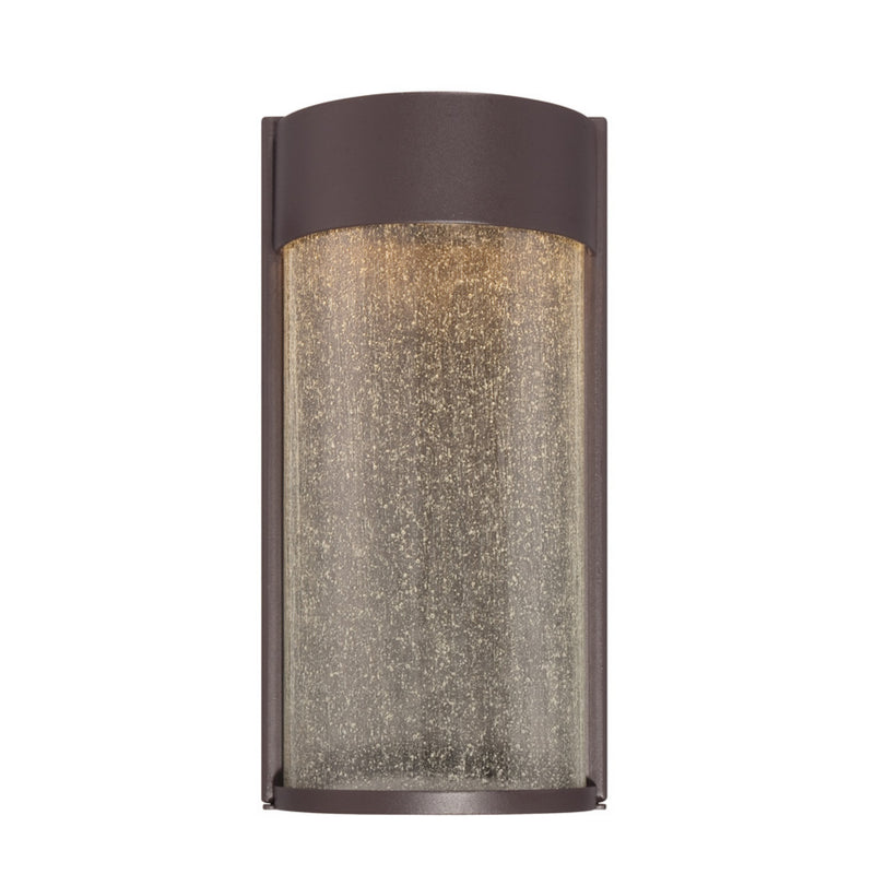 Modern Forms WS-W2412-BZ 3000K 8 Watt Rain LED Wall Light in Bronze