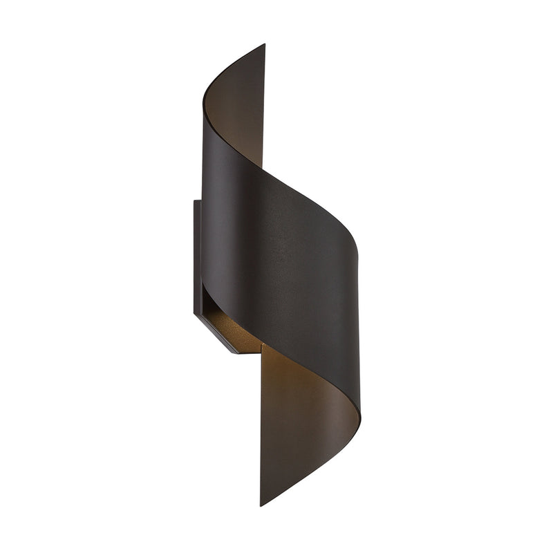 Modern Forms WS-W34524-BZ 3000K 8 Watt Helix LED Wall Light in Bronze