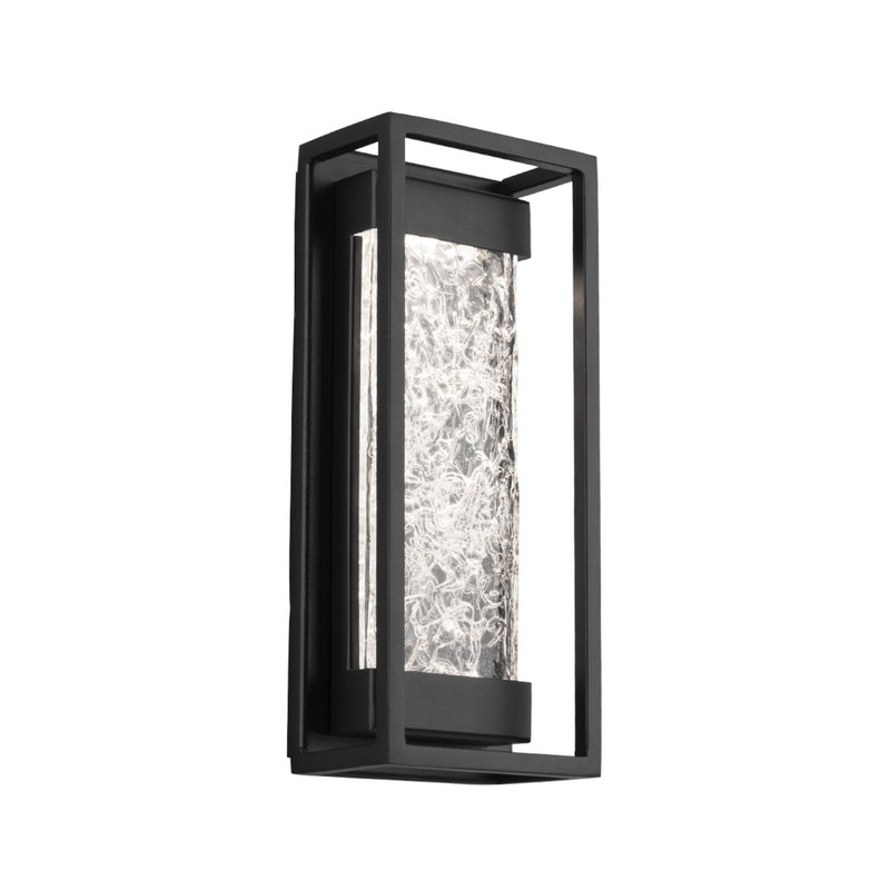 Modern Forms WS-W58012-BK 3000K 11.83 Watt Elyse LED Outdoor Wall Light in Black