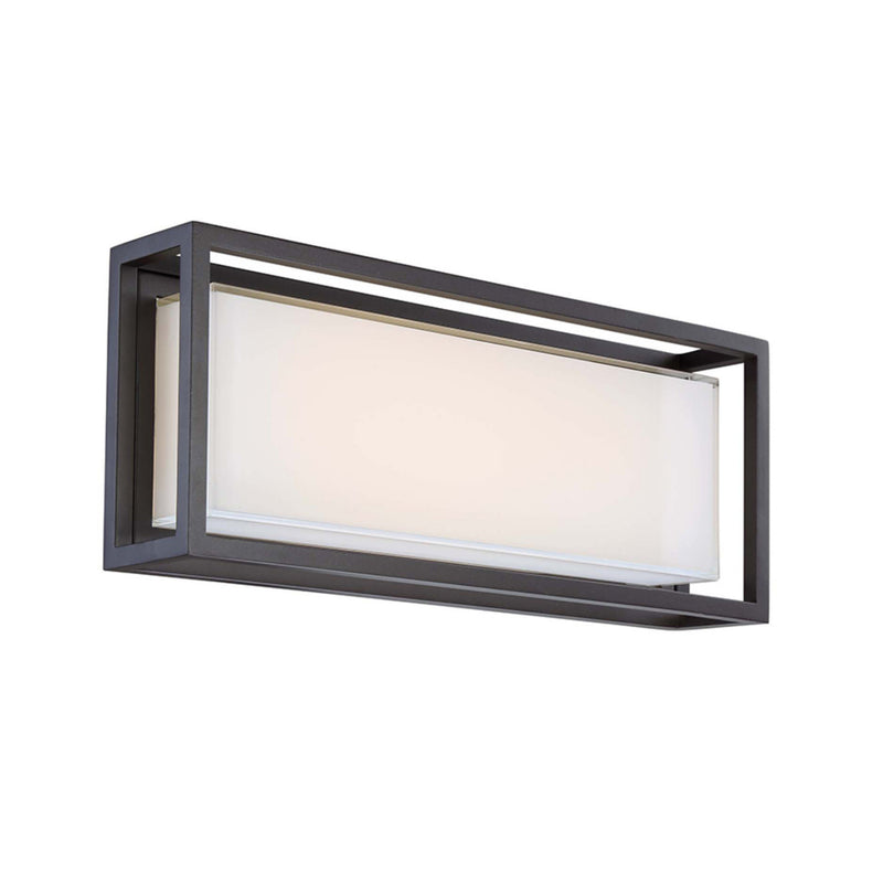 Modern Forms WS-W73620-BZ 3000K 34 Watt Framed LED Wall Light in Bronze