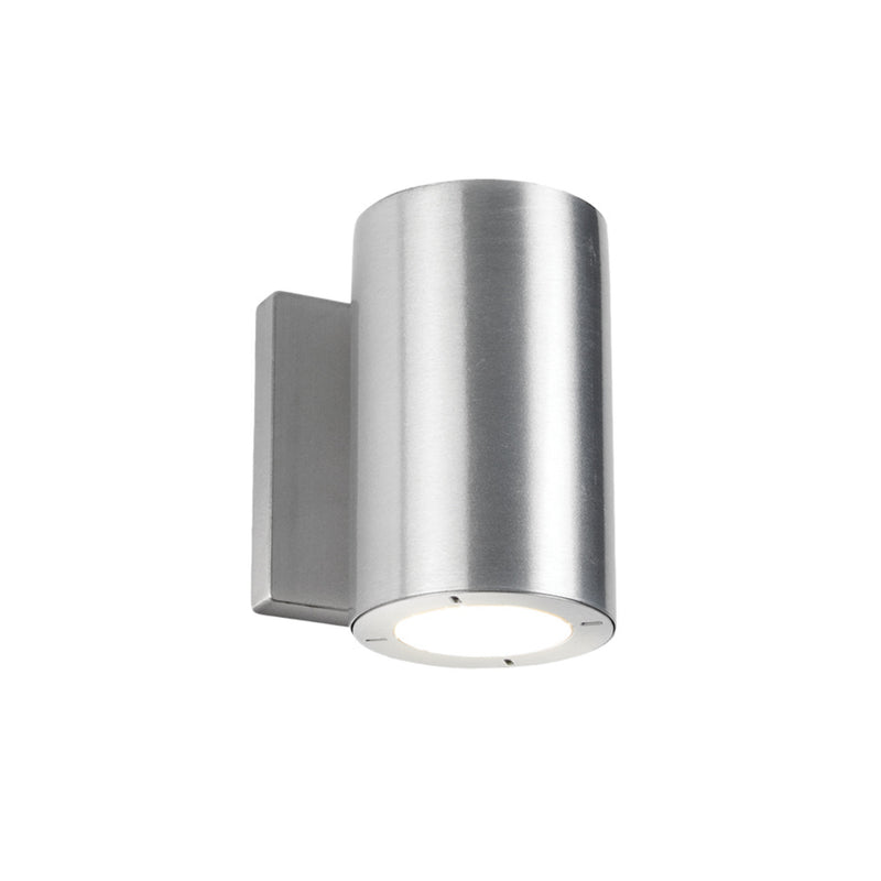 Modern Forms WS-W9101-AL 3000K 16.5 Watt Vessel LED Up Or Down Wall Light in Brushed Aluminum