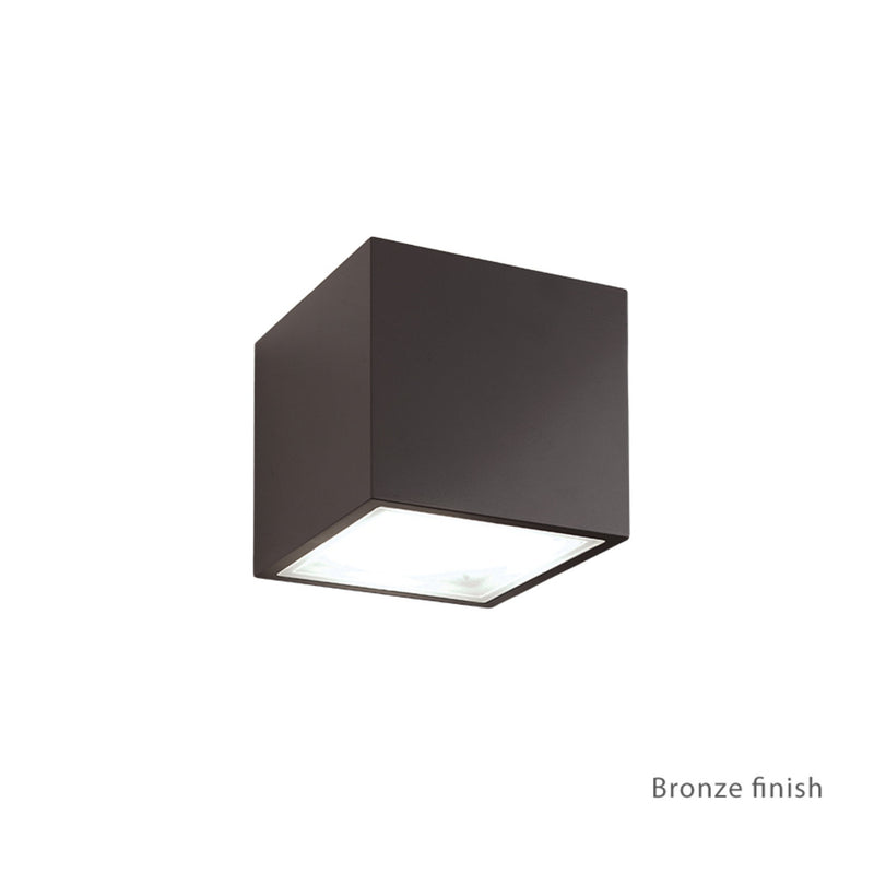 Modern Forms WS-W9201-BZ 3000K 16.5 Watt Bloc LED Up Or Down Wall Light in Bronze