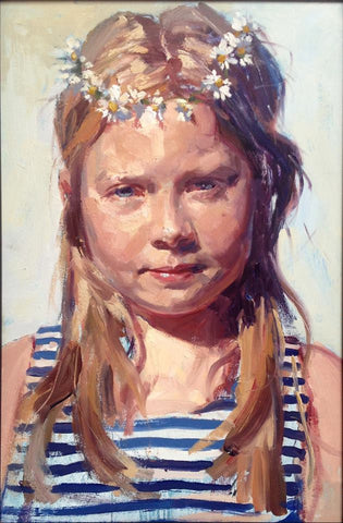 Portrait of my daughter - Eva